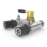 WEH® Defuelling Nozzle TK6 CNG for discharging of cars through the filling receptacle - Series