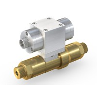 WEH® High Pressure Valve TV17GO for inert gases, pneumatical actuation, shut-off valve, DN12, NC, 420 bar