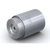WEH® Connector TW02 for straight tubes, tube OD 6.60 - 8.60 mm, pneumatical actuation, vacuum up to max. 35 bar