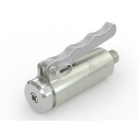 WEH® Connector TW141 for straight tubes, tube OD 6 mm, lever actuation, vacuum up to max. 100 bar