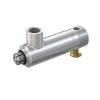 WEH® Connector TW17V for testing of components with internal thread, pneumatic actuation via valve button, vacuum up to max. 350 bar - Series
